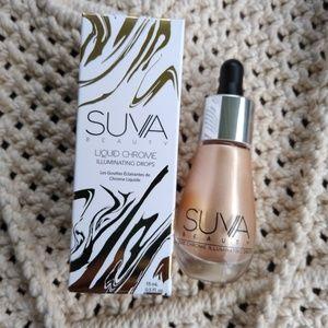 SUVA champagne gold liquid highlighter Trust Fund